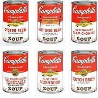 Andy Warhol (naar) - Campbell' s soup 2