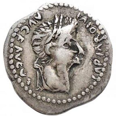 barbari - Sarmatian or Japigi. AR Denarius, Tiberius (14-37 A.D.) - Argento