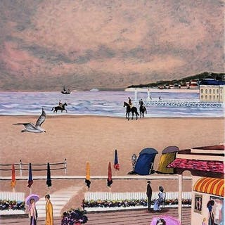 Ramon Dilley - Bord de mer à Deauville
