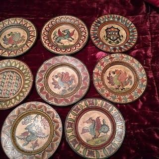 Etruria - Lastre, Piatto (8) - Ceramica
