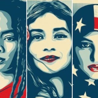 Shepard Fairey - We The People - Set of 3