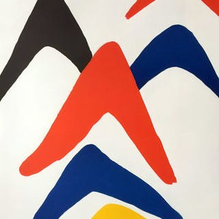 Alexander Calder - Stabiles - 1971