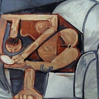 Pablo Picasso (after) - Femme a la Toilette .