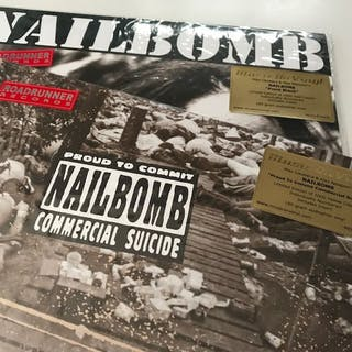 Nailbomb - Lot of 2 limited edition and deleted coloured...