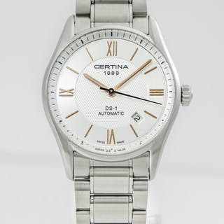 Certina - DS 1 Men's Automatic Silver Dial...