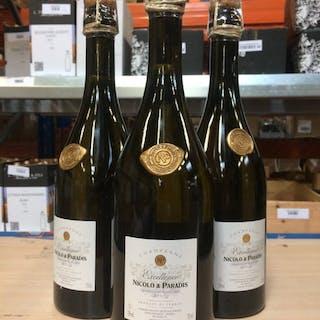 """Nicolo & Paradis """"Excellence"""" - Champagne Brut - 3 Bouteilles (0,75 L)"""