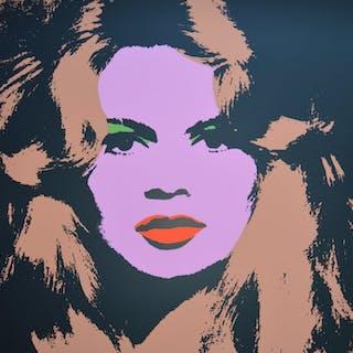 Andy Warhol (naar) - Brigitte Bardot