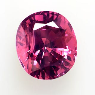 Purple Pink Spinel - 7.37 ct