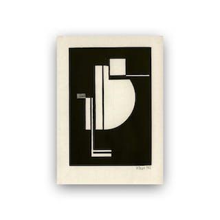 Walter Dexel - Vogel I Bauhaus 1924