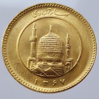 Iran - Azadi SH1367 (1988) - Oro