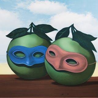 René Magritte (after) - La Valse Hésitation (The Hesitation Waltz)
