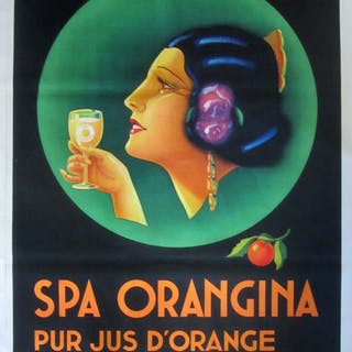 Studio Hypsos - Spa Orangina - 1930s