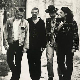 David McIntyre/Island records - U2, c.1987
