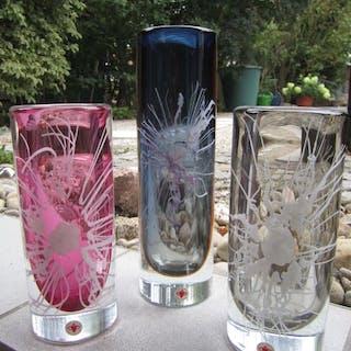 Petr Hora Beranek Skrdlovice - art glass vase