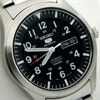 "Seiko - Automatic 23 Jewels 100M- ""NO RESERVE PRICE"" - Men - 2018"