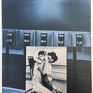 Jacques Monory - USA 76 - Etreinte
