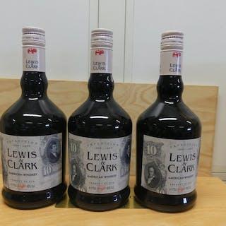 Lewis & Clark Amerikanischer Whisky - Expedition 1804-1954 - 70cl - 3 Flaschen