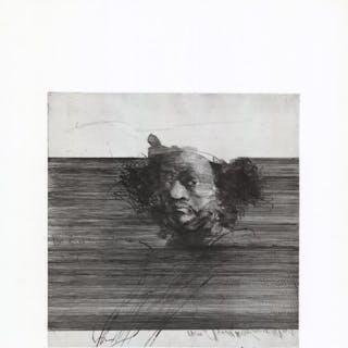 Claude Weisbuch- Portrait au turban