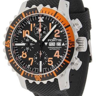 Fortis - Aquatis Marinemaster Chronograph Orange...