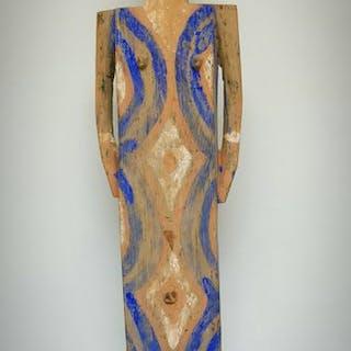 Funerary Figure - Wood - Ngata - DR Congo