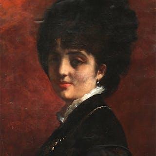 Emile Auguste Carolus-Duran (1837-1917) - Portait of a Lady