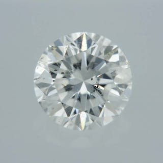 1 pcs Diamond - 0.42 ct - Round - D (colourless) - SI1