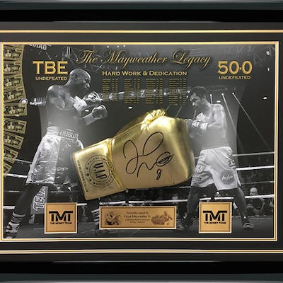 Boxing - Floyd Mayweather Jr - Boxing glove