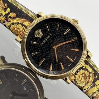Versace - V-Circle Tribute Edition Yellow and Black...