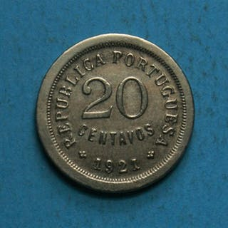 Portugal - República - 20 Centavos -1921 - Módulo Menor...