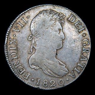 Spain - Fernando VII (1813-1833),8 reales