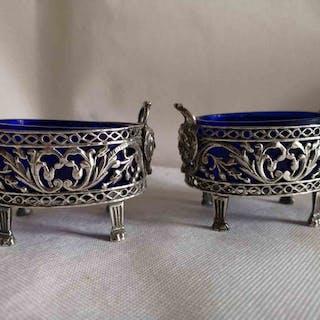 Saliere (2) - Silver - ROME - 1750-1799