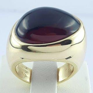 Pomellato - 18 kt. Yellow gold - Garnet Ring