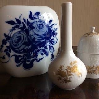 Bjorn Wiinblad - Rosenthal Studio-linie - 2 Vasen und 1...