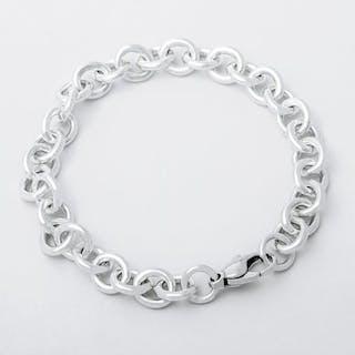 Tiffany & Co Round Link Bracelet Silver - Bracelet