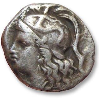Grecia (antica) - Calabria, Tarentum. AR Drachm, 280-272 B.C. - Argento