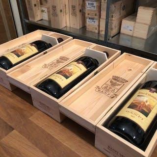 2017 Banfi Rosso di Montalcino - Toskana - 3 Magnumflasche (1,5 L)