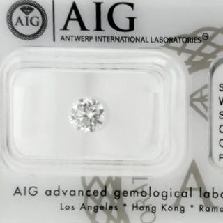 Diamond - 1.03 ct - Brilliant - D (colourless) - SI1