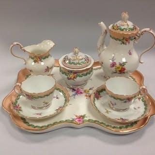 Meissen - Servizio da caffè - Porcellana