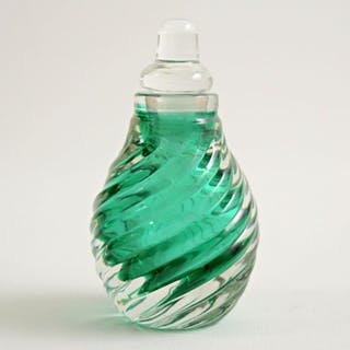 Carlo Scarpa - Venini - bottle - Twisted twisted glass
