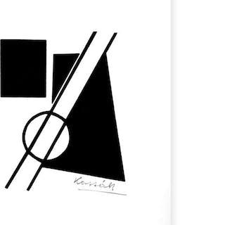 Lajos Kassák - Concrete Composition