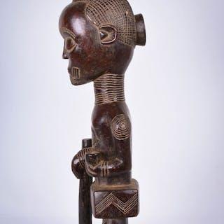 Ancestor statue - Wood - Bena Lulua - DR Congo