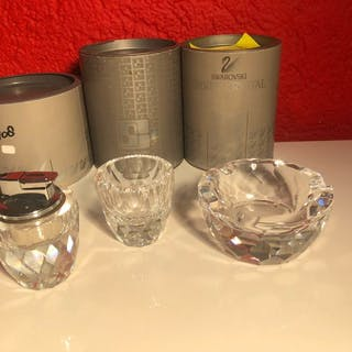 Swarovski - smoking set (3) - Crystal