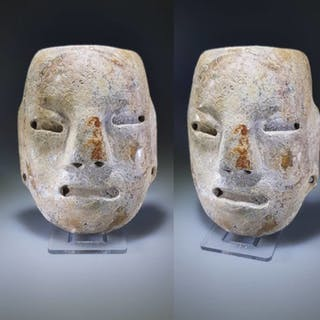 Teotihuacan Alabaster Stone Mask