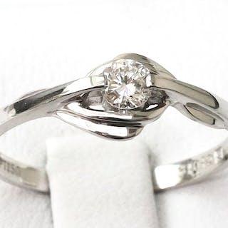PT950 Platinum - Ring Diamond