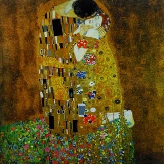 "Gustav Klimt (after) - ""The Kiss"" Certificate"
