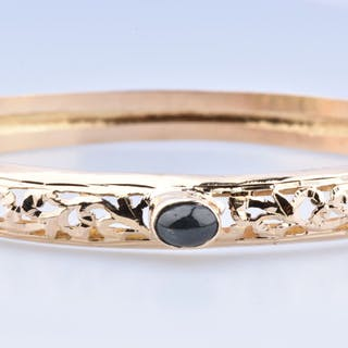 18 kt. Yellow gold - Bracelet - 0.30 ct Sapphire