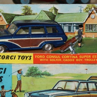 Corgi - 1:43 - 440 Ford consul cortina super estate car