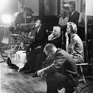 Unknown - Alfred Hitchcock & others, c.1960's