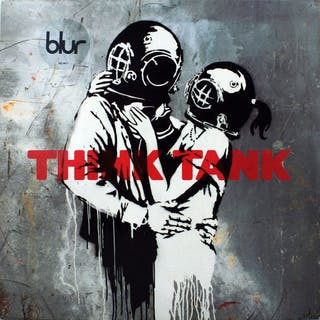 "Blur2 LP""Think Tank"" with Banksy Artwork Sleeve - 2 LP..."