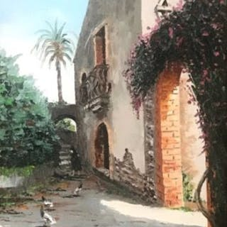 Edoardo Puglia ( Puglitta ) - Bauernhaus in Taormina